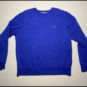 Indigo Nike crewneck